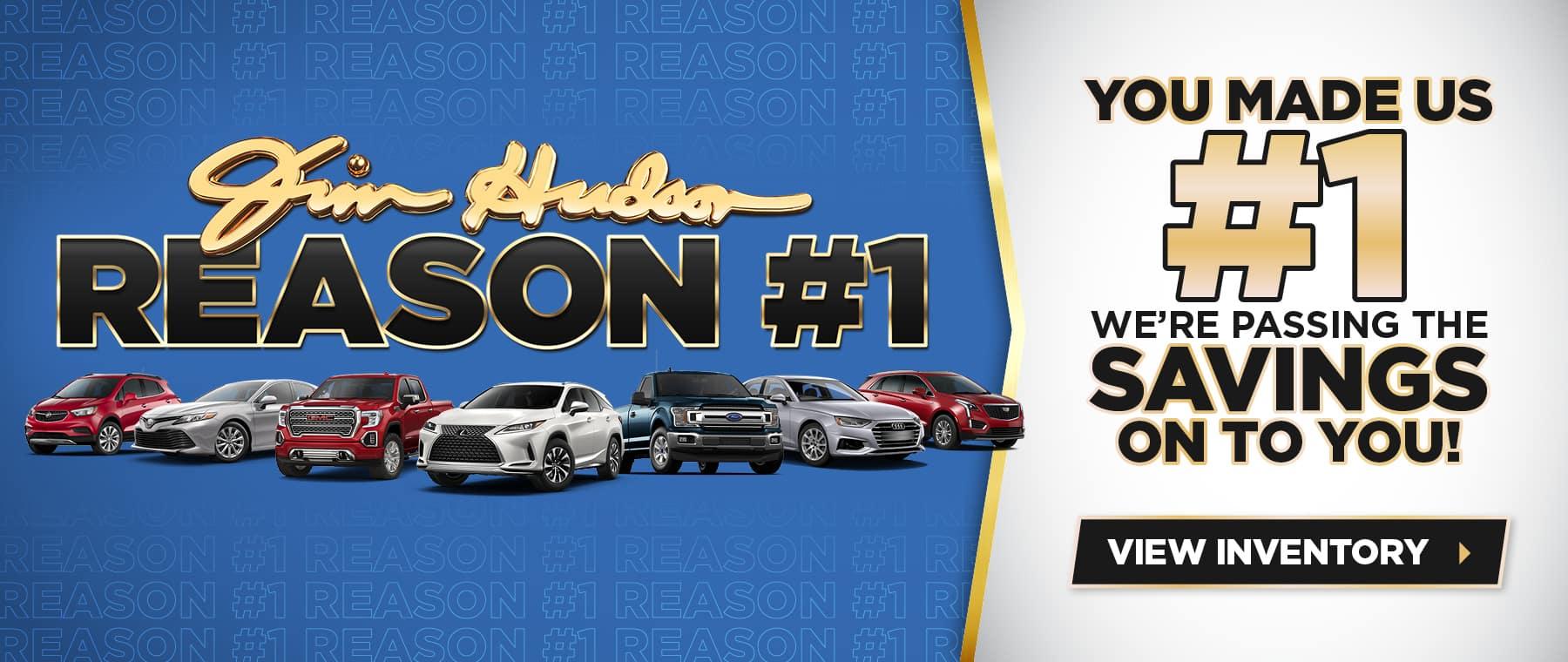 Jim Hudson Reason #1