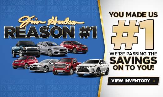 You Made Us #1 - Jim Hudson Automotive Group