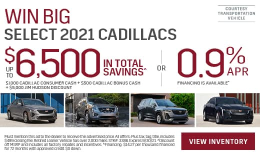 New Cadillac Offers