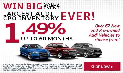 Win Big Sales Event CPO Inventory