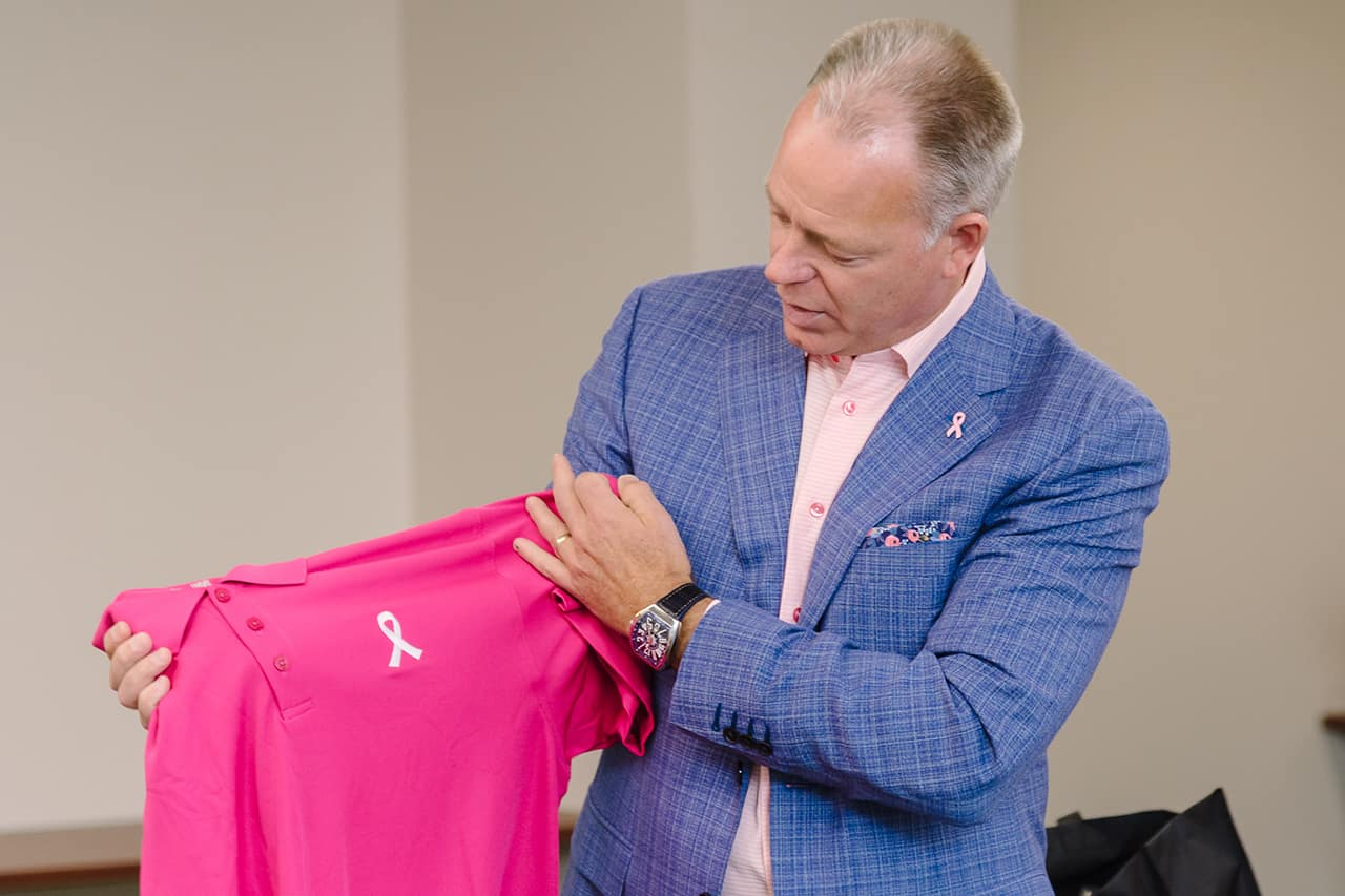 Breast Cancer Awareness Jim Hudson Charity