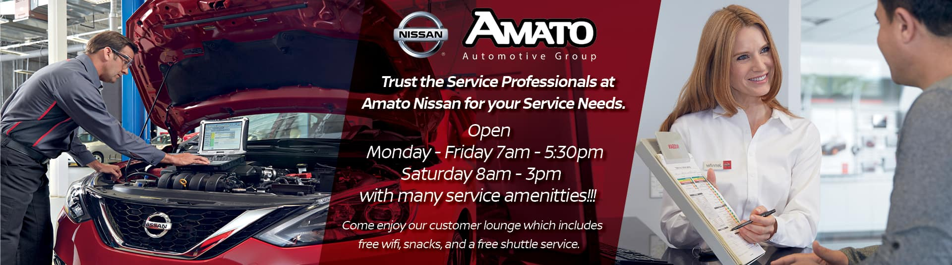 Amato Nissan Service Center