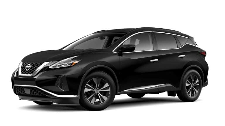 A black 2019 Nissan Murano SV