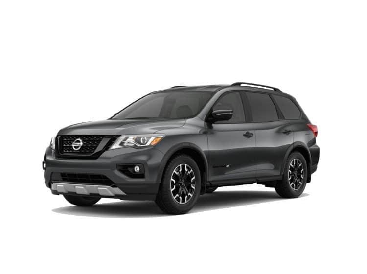 A grey 2020 Nissan Pathfinder SL Rock Creek™ Edition