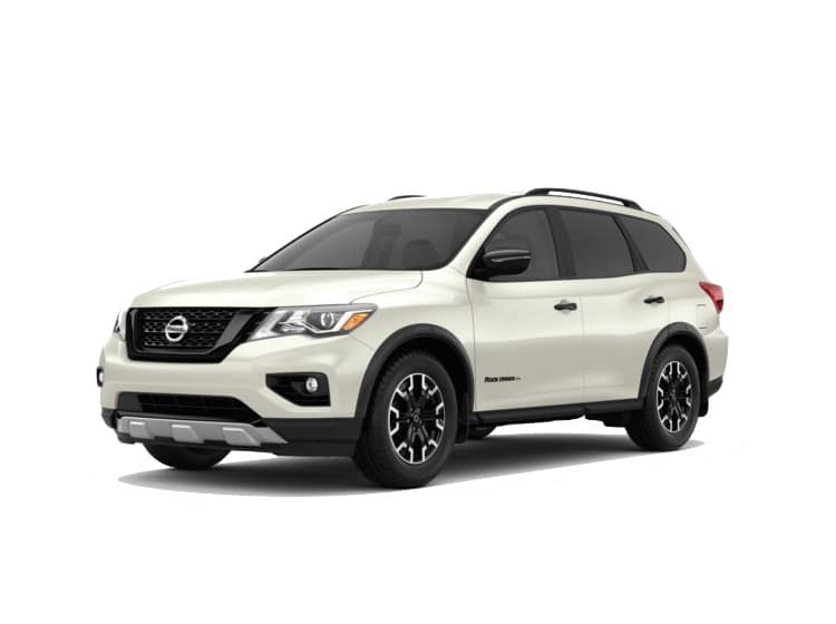 A white 2020 Nissan Pathfinder SV Rock Creek™ Edition
