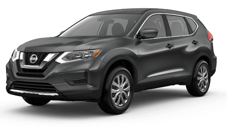 A white 2019 Nissan Rogue S