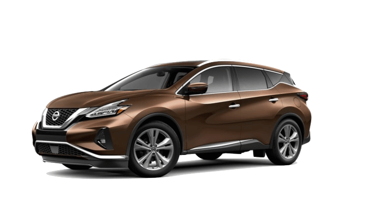 A brown 2020 Nissan Murano Platinum