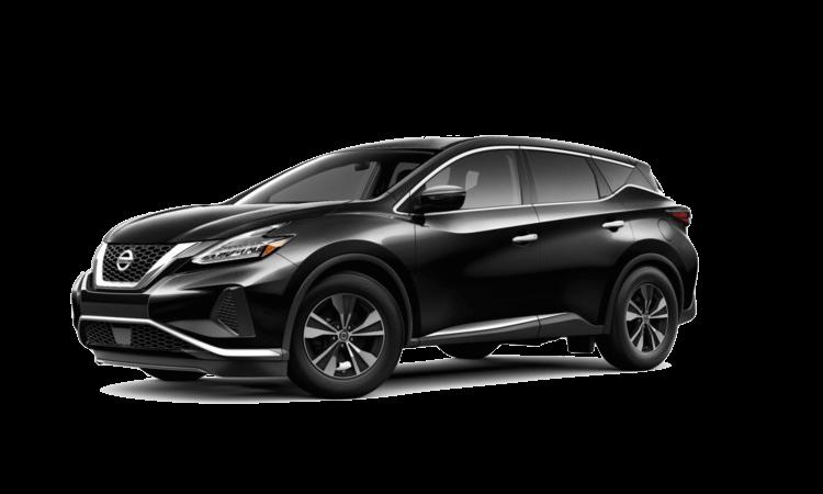 A black 2020 Nissan Maxima S