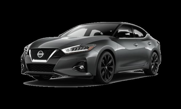 A grey 2020 Nissan Maxima SR