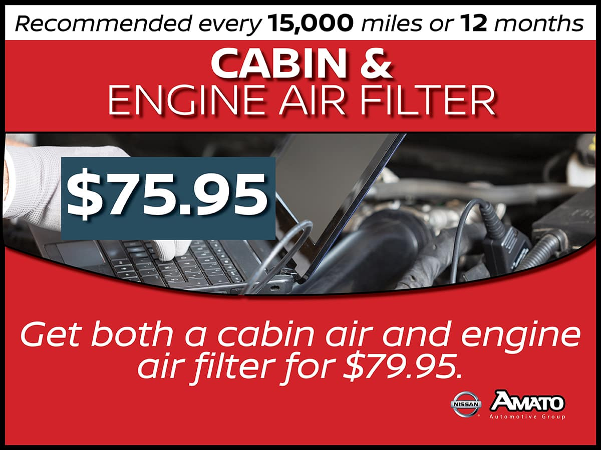 Cabin & Engine Air Filter Service Interval