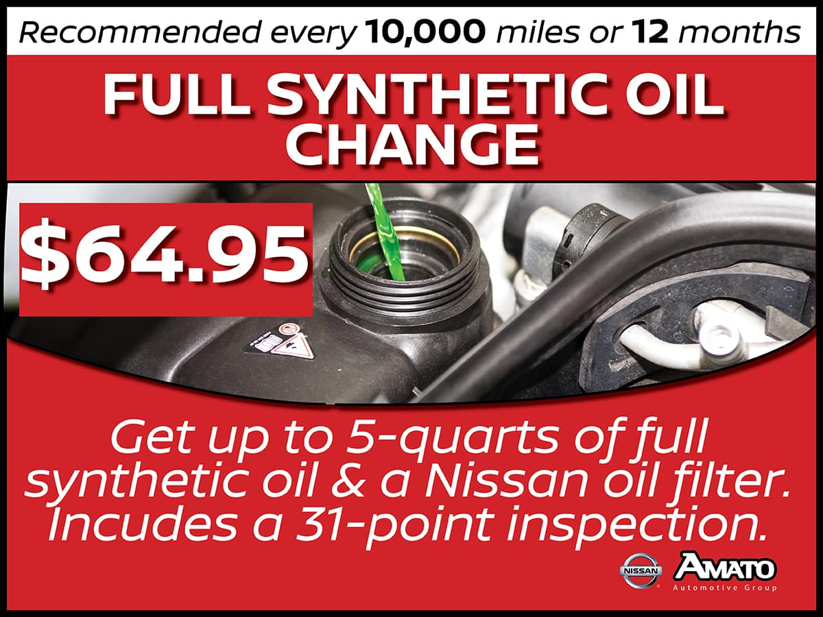 Synthetic Oil Change Service Interval