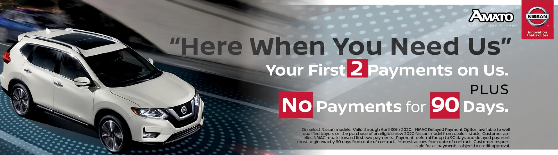 Here When You Need If First 2 Payments