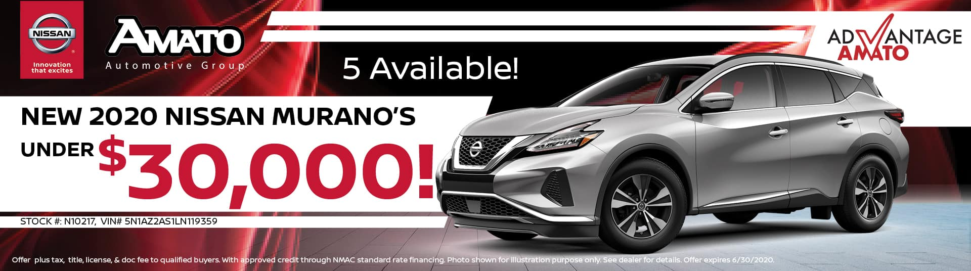 Nissan Murano's Under 30k