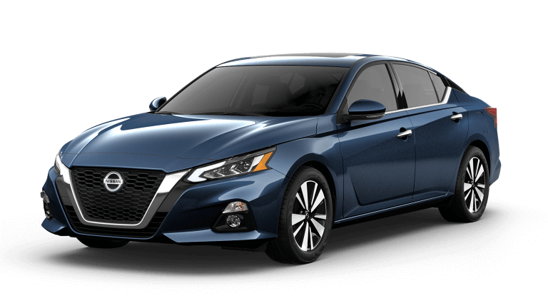 2019 Nissan Altima in storm blue
