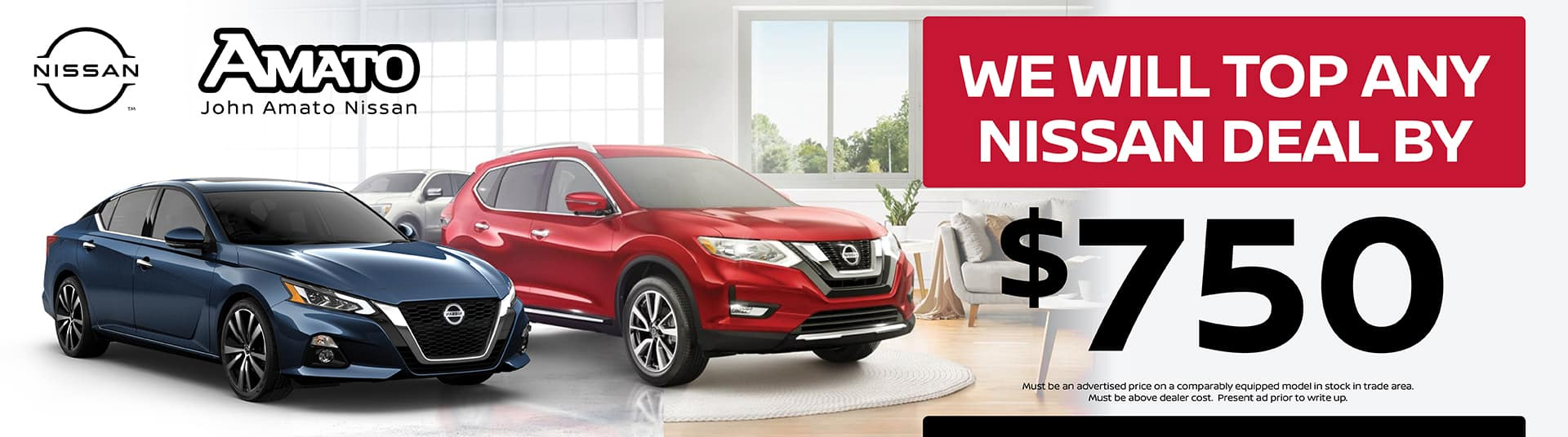 We will top any Nissan deal!
