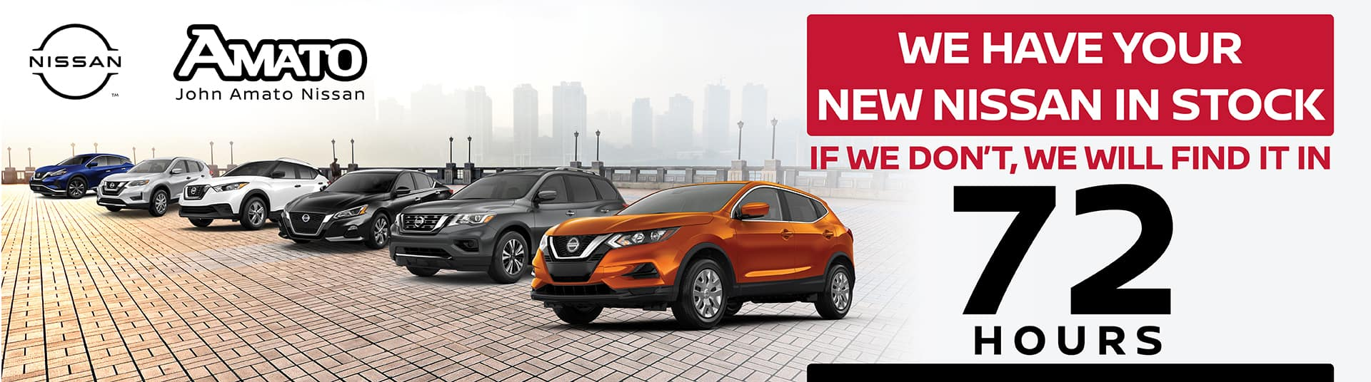 We have your new Nissan in stock!