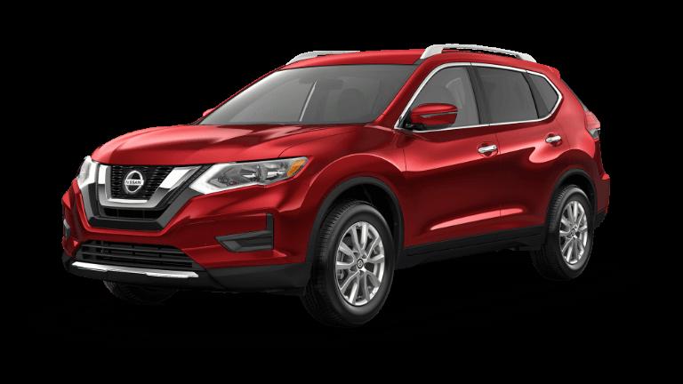 2020 Nissan Rogue SV in Scarlet Ember