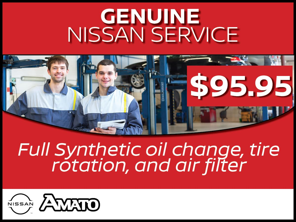Nissan Service Package Service Special Coupon