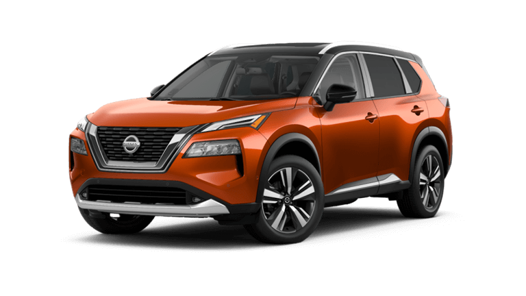 2021 Nissan Rogue Two-tone Sunset Drive ChromaFlair/Super Black