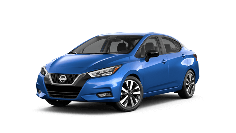 2021 Nissan Versa Electric Blue Metallic