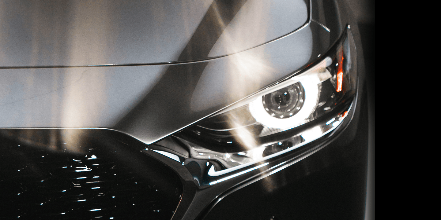 2020 Mazda Mazda3 sedan headlight