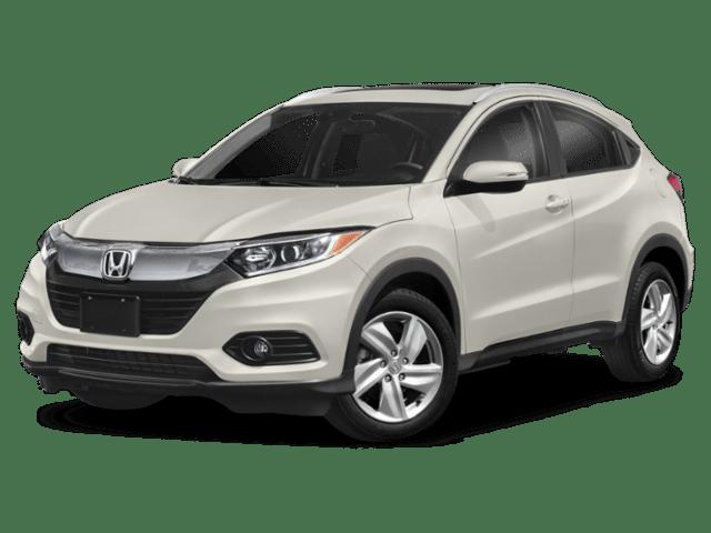 2019 Honda HR-V in white