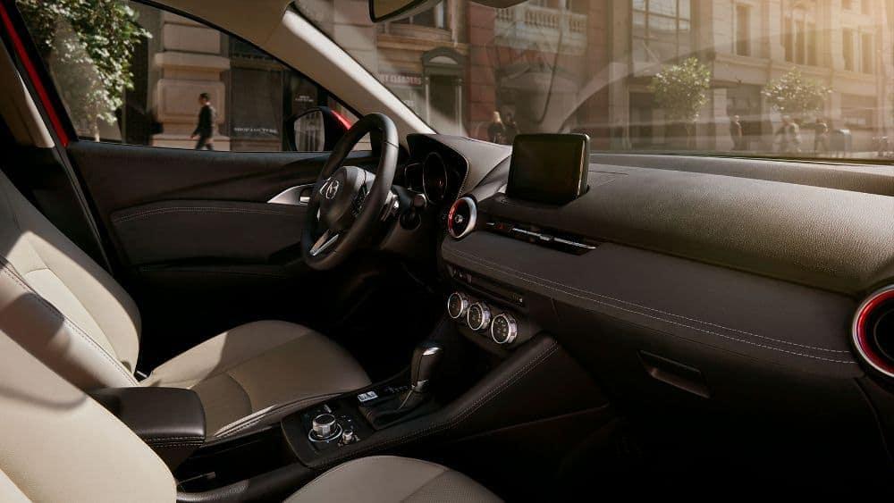 2019 Mazda CX-3 interior dashboard technology