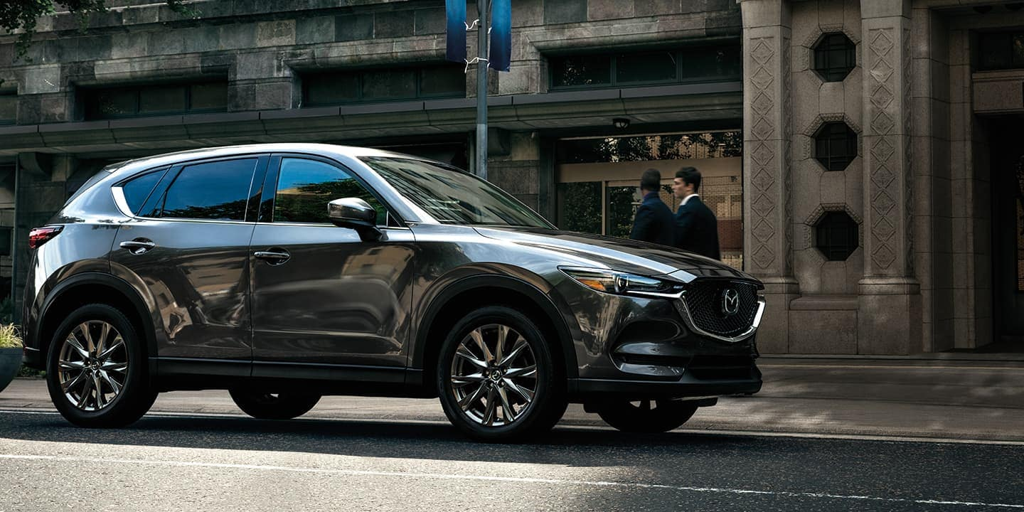 2020 Mazda CX-5 parked on road