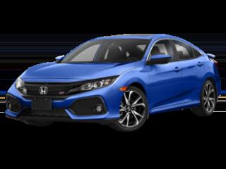 2019 Honda Civic Si Sedan Color Blue