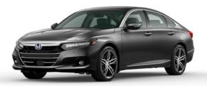 2021 Honda Accord Hybrid Sedan in Dark Gray