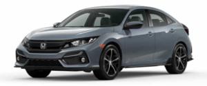 2021 Honda Civic Hatchback in Blue-Gray