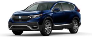 2021 Honda CR-V Hybrid SUV in Blue