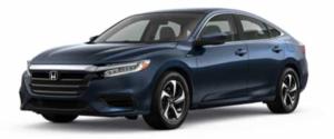 2021 Honda Insight Sedan in Blue
