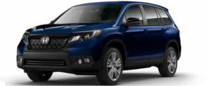 2021 Honda Passport SUV in Blue