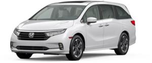 2022 Honda Odyssey Minivan in White