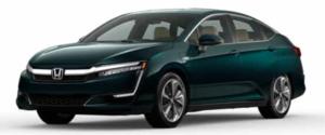 2021 Honda Clarity Plug-In Hybrid in Green
