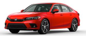 2022 Honda Civic Sedan in Red