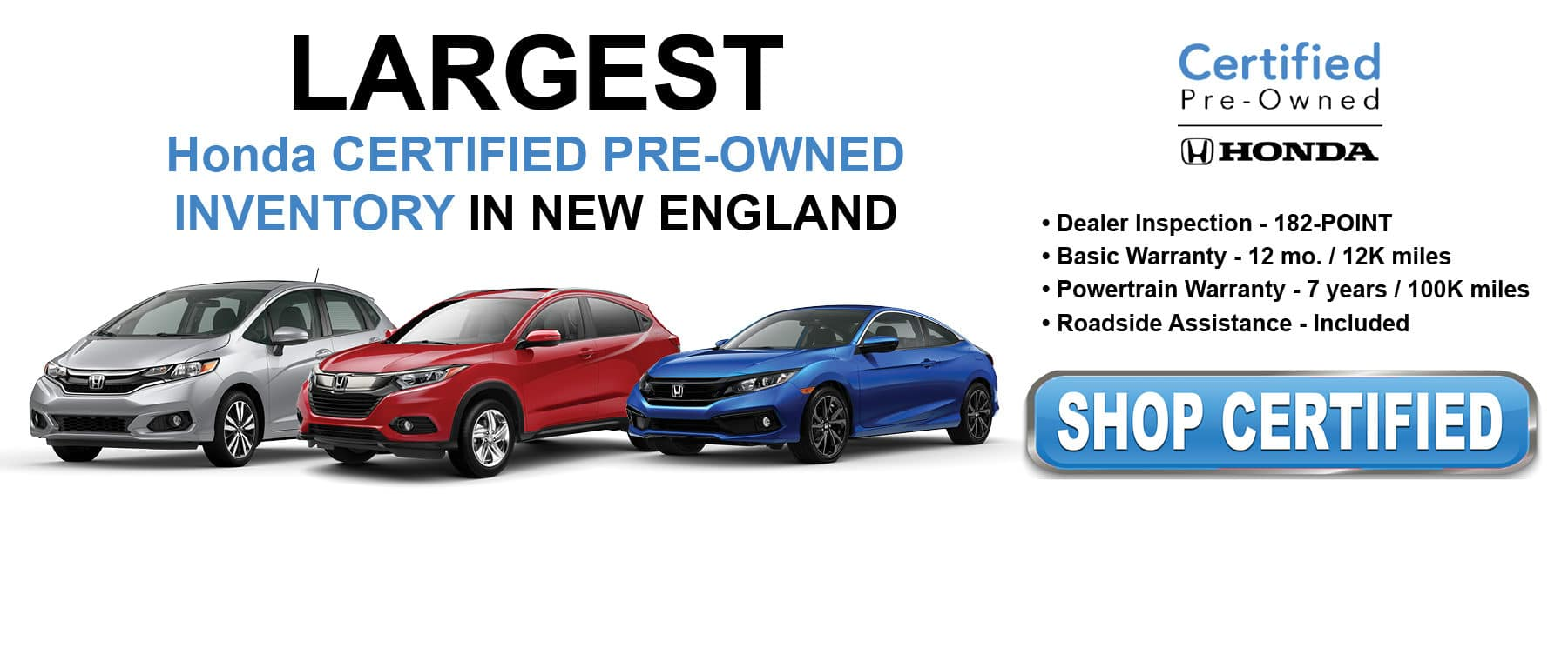 Shop Certified Pre-Owned Inventory at Kelly Honda