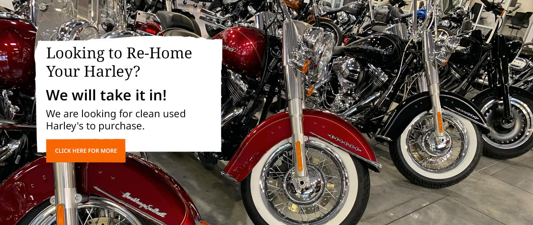 Rehome your harley