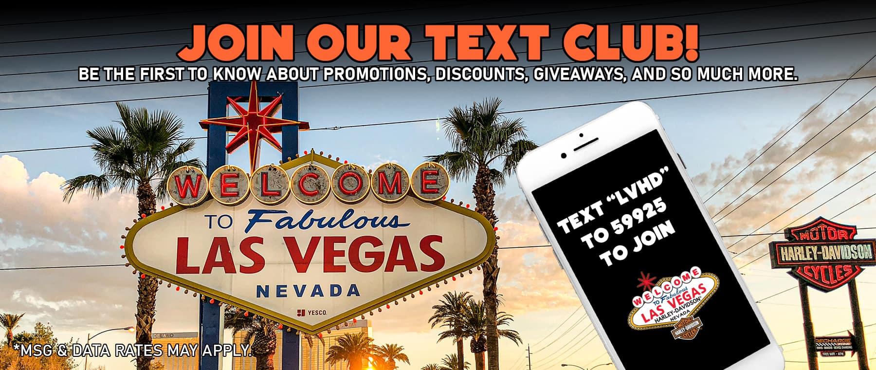 Text Club Banner – Website