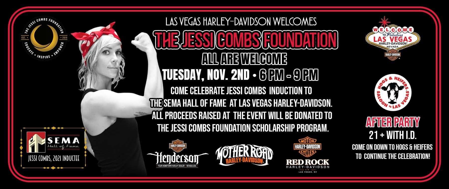 Jessi Combs Website Banner