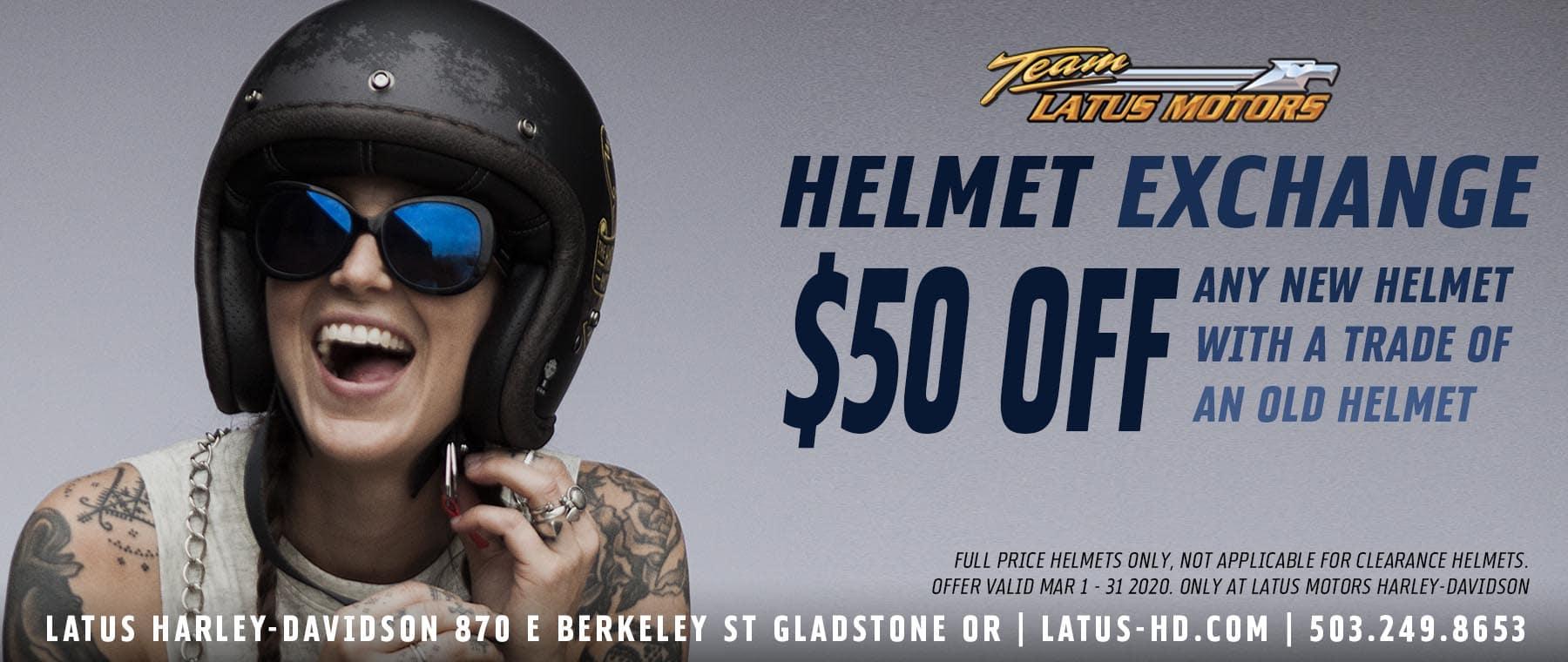 Helmet Exchange
