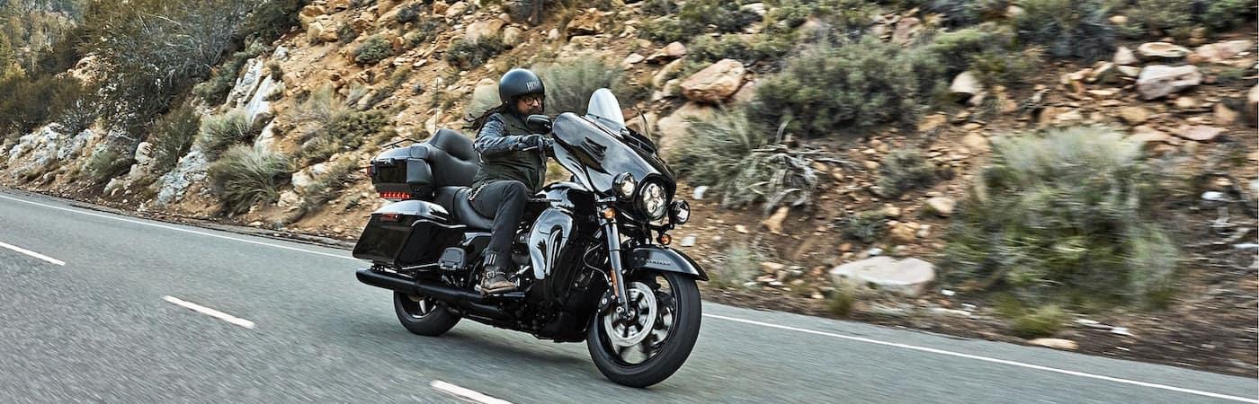 Harley Davidson Rider with Helmet