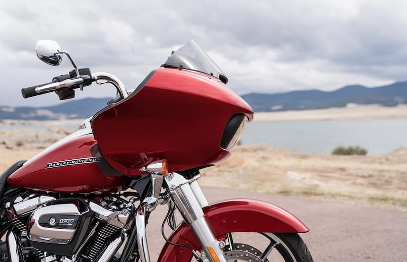 Red 2020 Road Glide