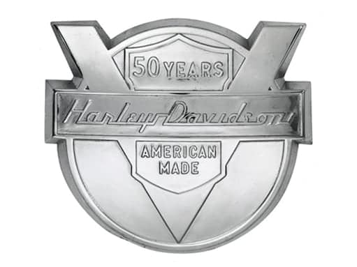 Harley 50th Anniversary Logo