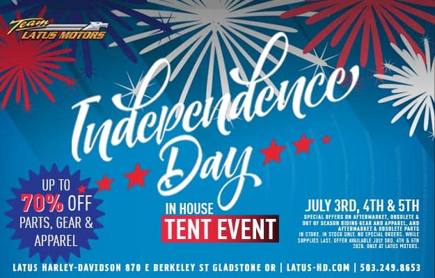 Independence Day In-house Tent Event