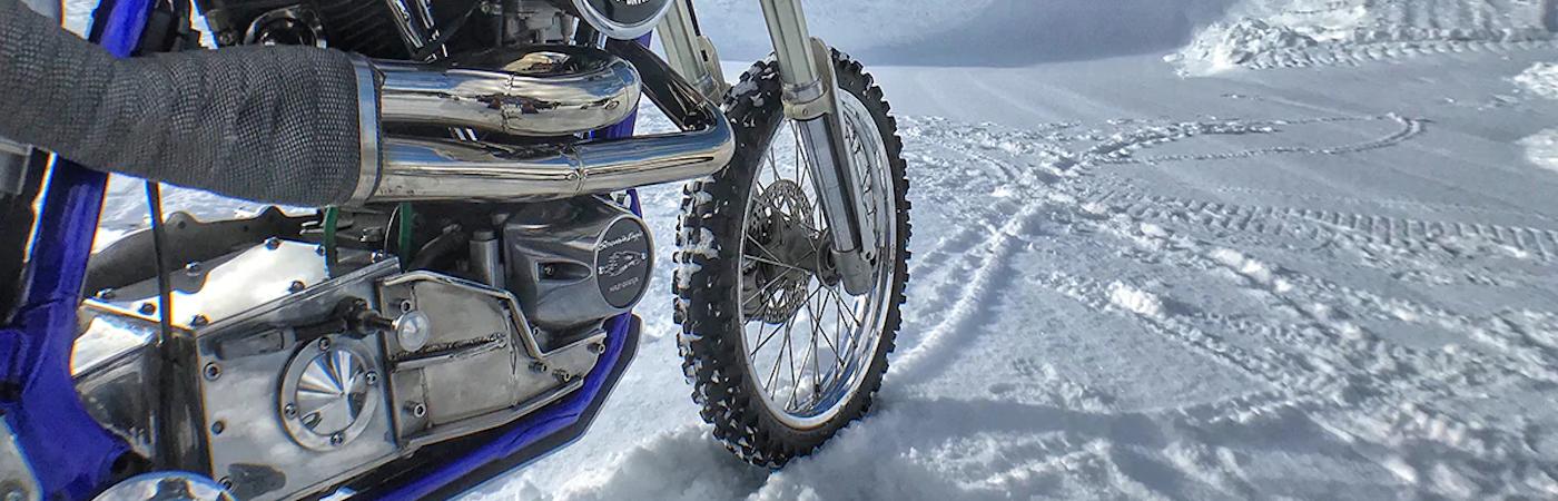 HD Tire in Snow