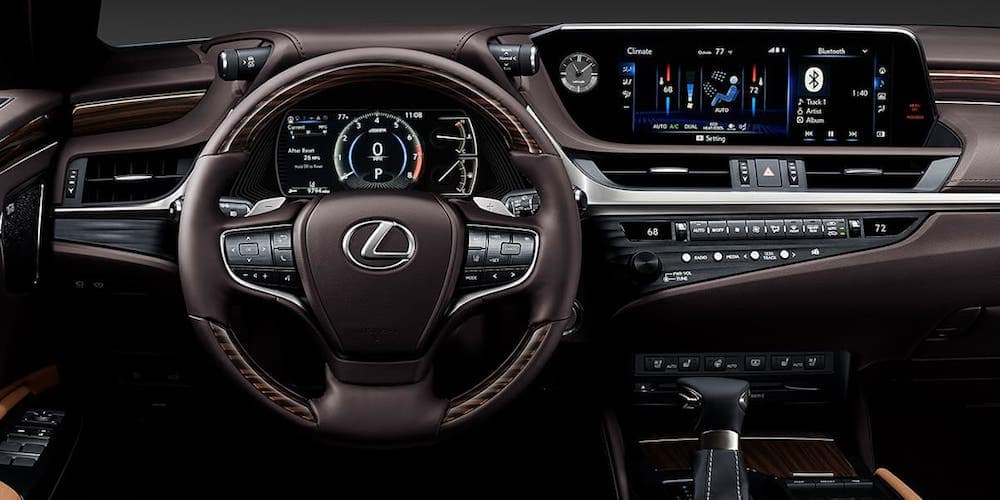 2020 Lexus ES Front Interior and Dashboard