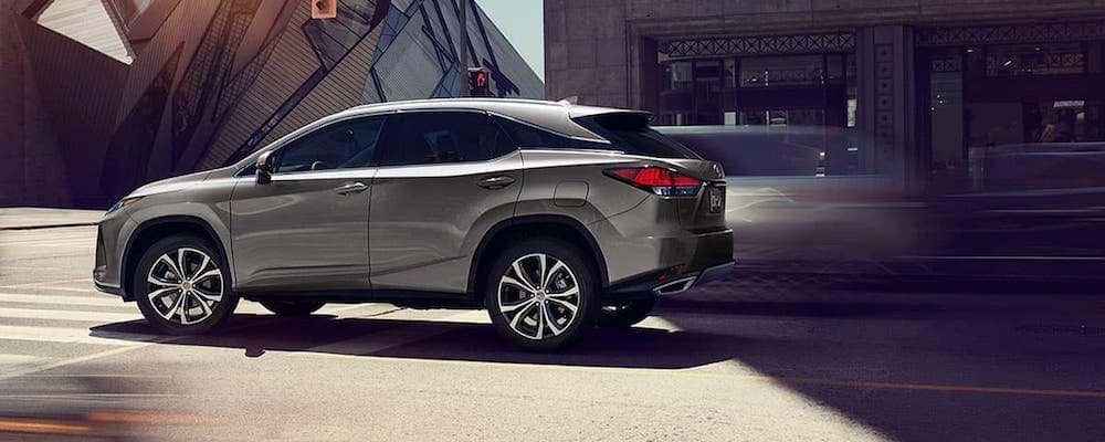 Silver 2020 Lexus RX 350 on City Street