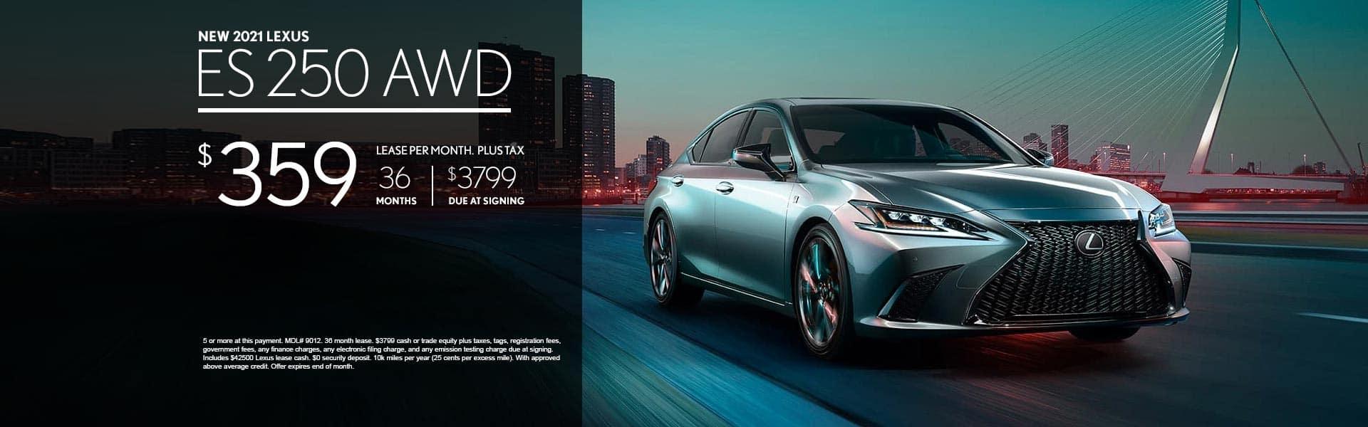 2021_Lexus_ES_250_AWD